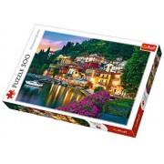 Puzzle Lacul Como - Italia, 500 piese