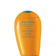 Shiseido tanning emulsion spf 6 for face body emulsione abbronzante viso corpo 150 ml