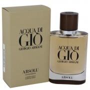 Acqua Di Gio Absolu Eau De Parfum Spray By Giorgio Armani 2.5 oz Eau De Parfum Spray
