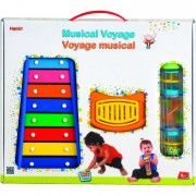 Set jucarii muzicale Voyage Halilit, 12 luni+, Multicolor