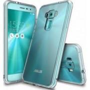 Husa Ringke Asus ZenFone 3 Fusion Crystal Clear + Folie Ringke Invisible Screen Defender