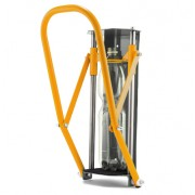 Falra szerelhető palackprés - strapabíró kivitel - antracit/sárga