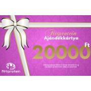 Fittprotein Online Ajándékkártya Nőknek 20000Ft értékben