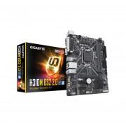 T. Madre Gigabyte H310M DS2 2.0, Chipset Intel H310, Soporta, Core