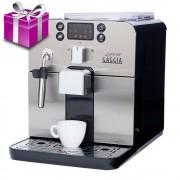 Espressor Gaggia Brera Negru+cadou cafea 500g si decalcifiant Gaggia