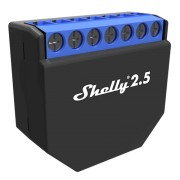 Shelly 2.5 - WiFi-operated Double Relay Switch - двойно реле