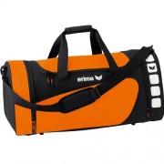 erima Sporttasche 5-CUBES (mit Nassfach) - orange/schwarz | L