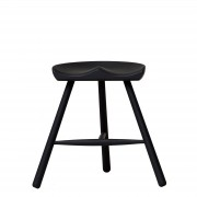 Shoemaker Chair? No. 49 Buche Schwarz gebeizt Form & Refine