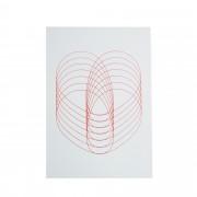 Designtorget Kort rött hjärta