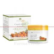 Crema Antirid Noapte Ulei de Catina+Masline 50 ml Cosmetic Plant