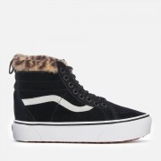 Vans Women's Sk8-Hi Platform Trainers MTE - Black/Leopard Fur - UK 7 - Black