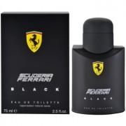 Ferrari Scuderia Ferrari Black eau de toilette pentru barbati 75 ml