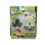 Set Ben 10 Ben 10 cu 2 figurine de lupta Cap de Diamant si Ghiulea