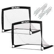 Net Playz Set 2 porti de fotbal pliabile 125x90x90 cm