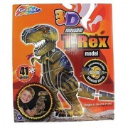3D Movable T-Rex Model Kit - 3D Dinosaur Puzzle (41pcs)