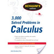 Schaum's 3,000 Solved Problems in Calculus (Mendelson Elliott)(Paperback) (9780071635349)