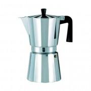 Oroley Cafetera Italiana 12Tazas Aluminio New Vitro Oroley