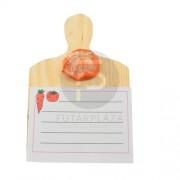 mágneses üzenőtábla narancs 10135