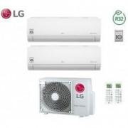 LG CLIMATIZZATORE CONDIZIONATORE INVERTER DUAL 7+9 LG SERIE LIBERO 7000+9000 BTU CON MU2R15 GAS R32 IN A+++ NEW 2018