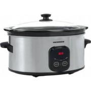 Slow Cooker Heinner HSCK-C57IX 5.7 L 220 W Control Electronic Timer InoxNegru