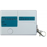 Mini tester pt verificarea cablurilor UTP (RJ45, RJ11)
