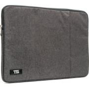 """Tech Supplies - MTSG15 Business Selection Sleeve voor 15 Inch Laptop, geschikt voor de Apple Macbook Air / Pro of andere laptops van 15.6"""" Fluweel zacht van binnen Bescherming Cover Hoes Case Grijs"""