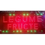 Reclama LED - LEGUME FRUCTE -