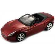 Bburago 1:24 Ferrari California T Open Top Car, Multi Color