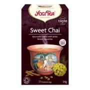 Yogi Tea - Sweet Chai, ekologisk (17 tépåsar)