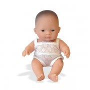 Papusa bebelus fetita asiatica 21 cm - Miniland