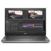 "Laptop Dell Precision 7550 (Procesor Intel® Core™ i7-10875H (16M Cache, up to 5.10 GHz), Comet Lake, 15.6"" FHD, 16GB, 256GB SSD, nVidia Quadro T2000 @4GB, Linux, Gri)"