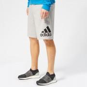 adidas Men's Must Haves BOS Shorts - Grey Heather - M - Grey