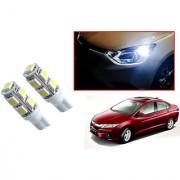 Auto Addict Car T10 9 SMD Headlight LED Bulb for Headlights Parking Light Number Plate Light Indicator Light For Honda Idtec (2010-2014)