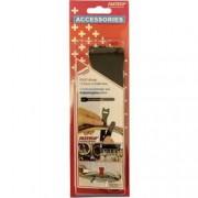 FASTECH® Kabelový manažer na suchý zip FASTECH® 802-330, (d x š) 200 mm x 13 mm, černá, 10 ks