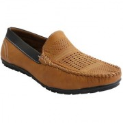 Stylos Men's Tan 1513 Loafer Shoes