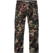 Alpha Agent C Pantalones Verde 38