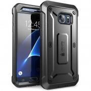 Carcasa 360 grade Supcase Unicorn Beetle Pro Samsung Galaxy S7 cu protectie display Negru