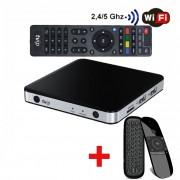 TVIP 605 S-Box HD IPTV WiFi 5 GHz, Fjärrkontroll med mus och tangentbord