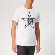 Diesel Men's Diego Star T-Shirt - White - XL - White