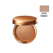 Kanebo SENSAI SILKY BRONZE Sun Protective Compact SC03 Medium...