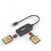 USB Type C Card Reader Cititor Carduri Dublu Multifunctie Cu Cablu