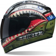 Bell Qualifier DLX Devil May Care Casco Negro/Verde XL (61/62)