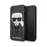 Apple Karl Lagerfeld TPU Case Ikonik Karl Black for Apple iPhone XR