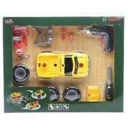 Klein Samochody Klein Samochód do skręcania 3w1 z wkrętarką - żółty 8168