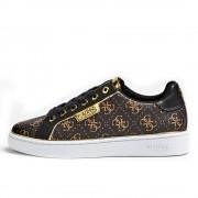 Guess Scarpe Donna Sneakers Marroni Linea Banq