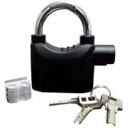 ZURU BUNCH Brand New Security Pad Lock with Smart Alarm Motion Sensor-Black color