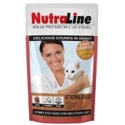 Hrana pisici Plic Nutraline Sterilised, 100 g