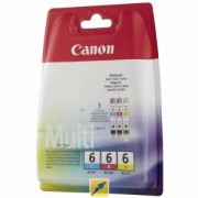 Комплект мастилени касети Canon BCI-6 C/M/Y Multipack, BS4706A022AA