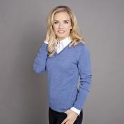 femeiesc pulover Willsoor 5200 în lumină albastru culoare