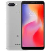 "Telefon Mobil Xiaomi Redmi 6, Procesor Octa-Core 2GHz, IPS LCD capacitive touchscreen 5.45"", 3GB RAM, 32GB Flash, Camera Duala 12+5MP, Wi-Fi, 4G, Dual Sim, Android (Gri) + Cartela SIM Orange PrePay, 6 euro credit, 6 GB internet 4G, 2,000 minute nationale"